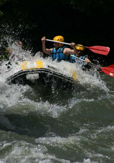 Rafting en Cantabria, Asturias, Burgos ...