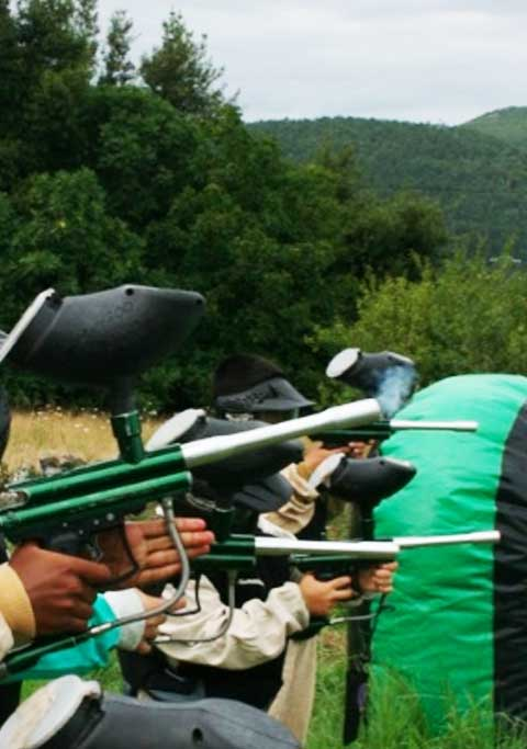 Paintball Laser (Laser tag) en Cantabria